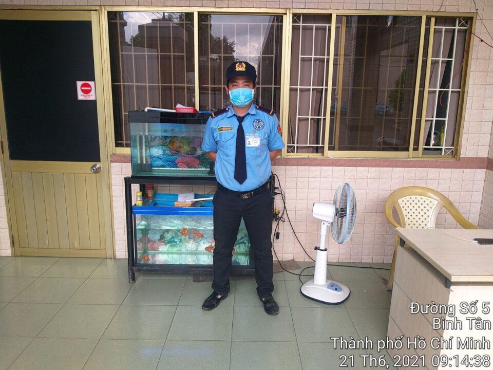 Công ty bảo vệ Bình An tuyển dụng
